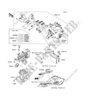 CHASSIS ELECTRICAL EQUIPMENT voor Kawasaki Z1000SX 2013